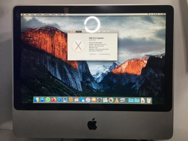 iMac 2009 1TB SSD mit El Capitan installiert 1Jahr Garantie