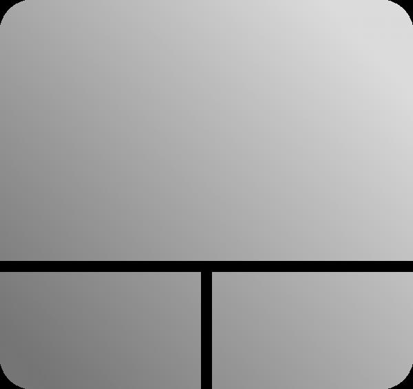 "Touchpad Reparatur Apple Macbook 13"" (A1181)"